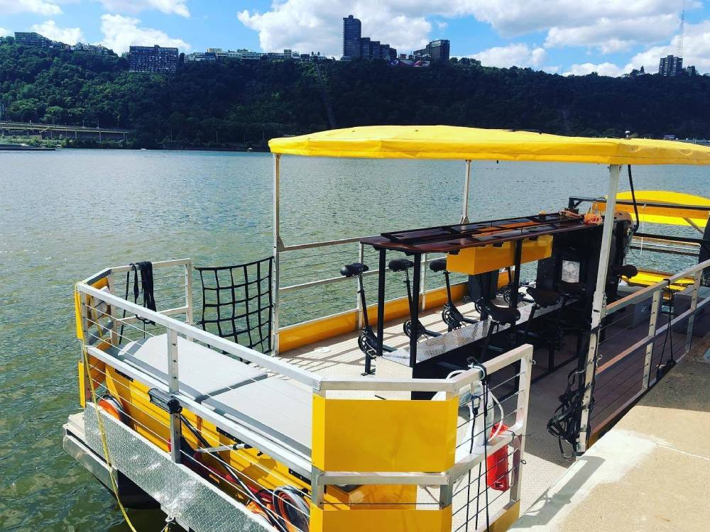 Why Yinzers Say Pittsburgh Pedal Boats Offers the Best Cruise in the City