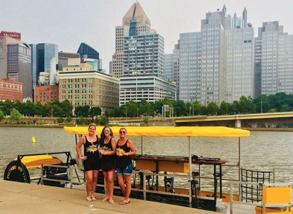 pittsburgh pedal boats