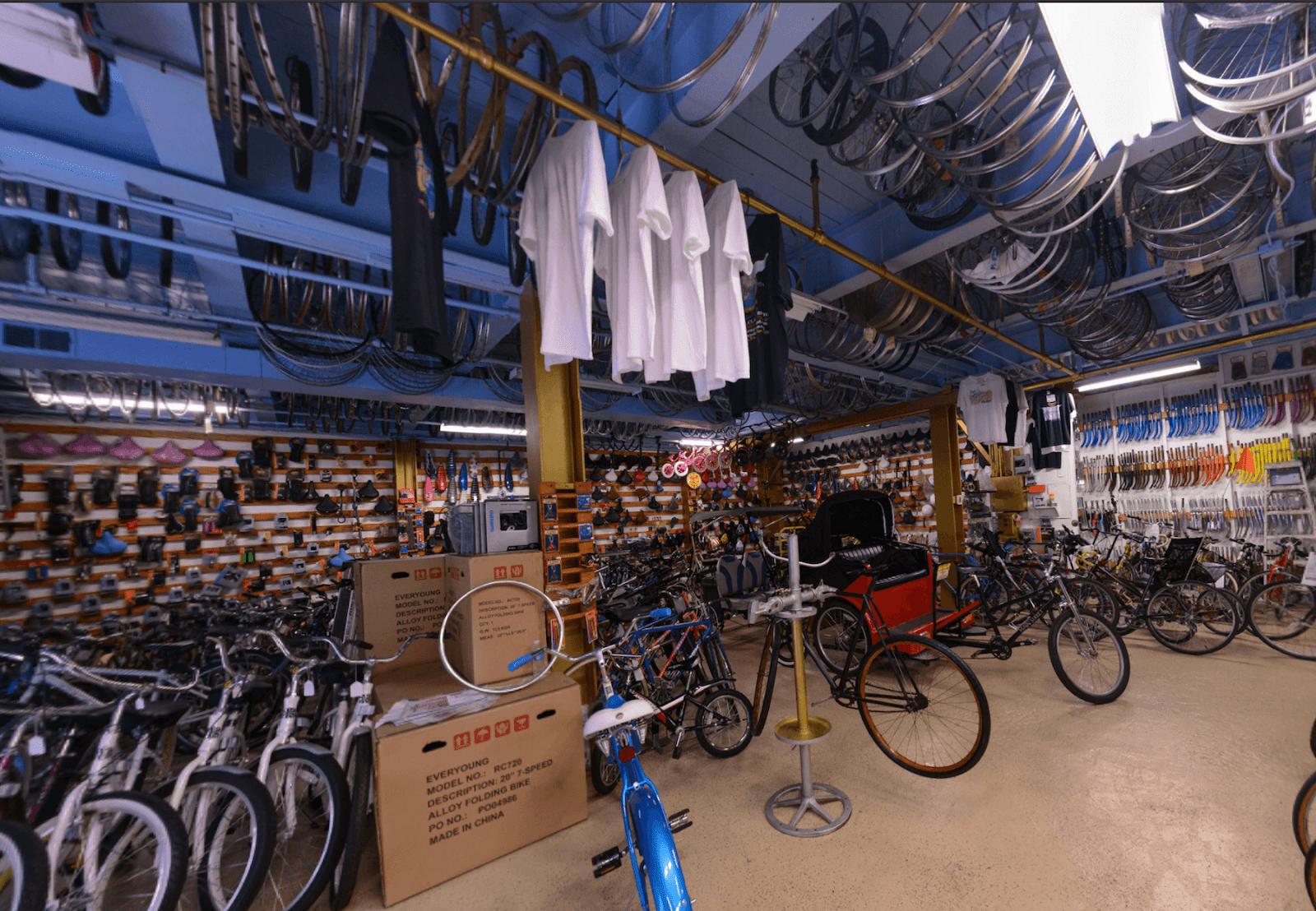 inside Bicycle Heaven
