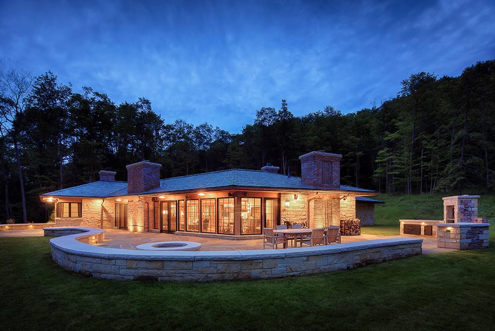 the Lodge at Glendorn cabin