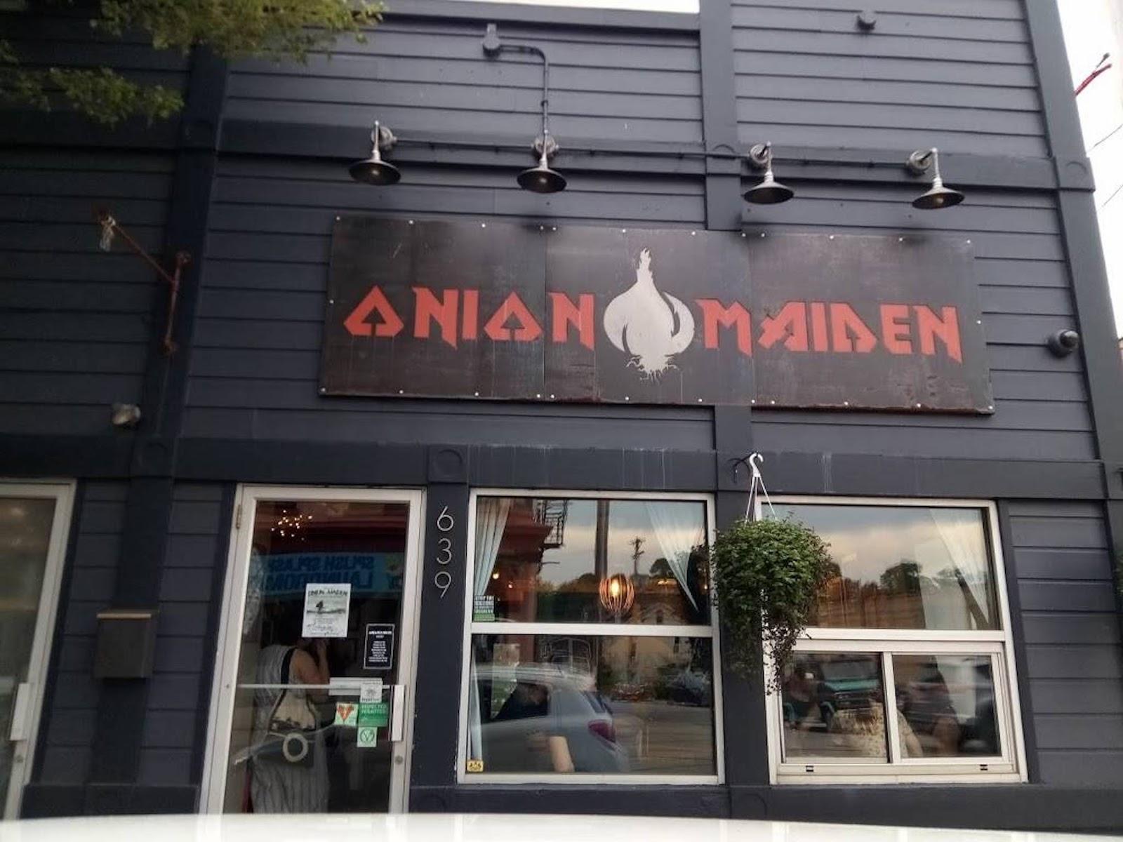 Onion Maiden storefront