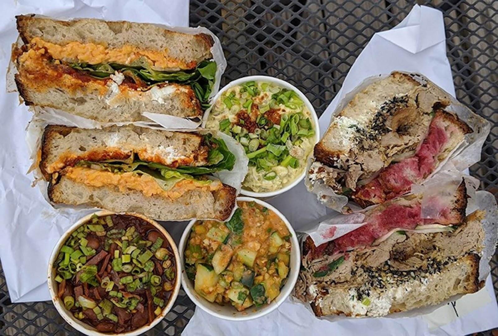 food from Duncan Street Sandwich Shop