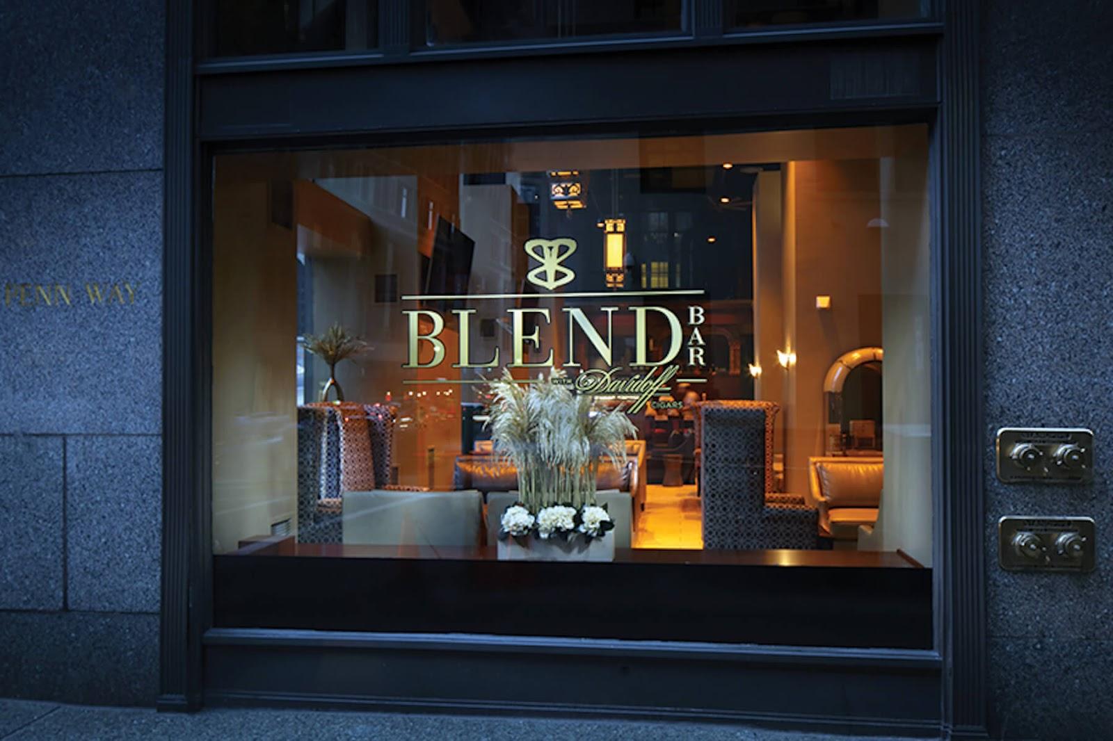 BLEND bar storefront