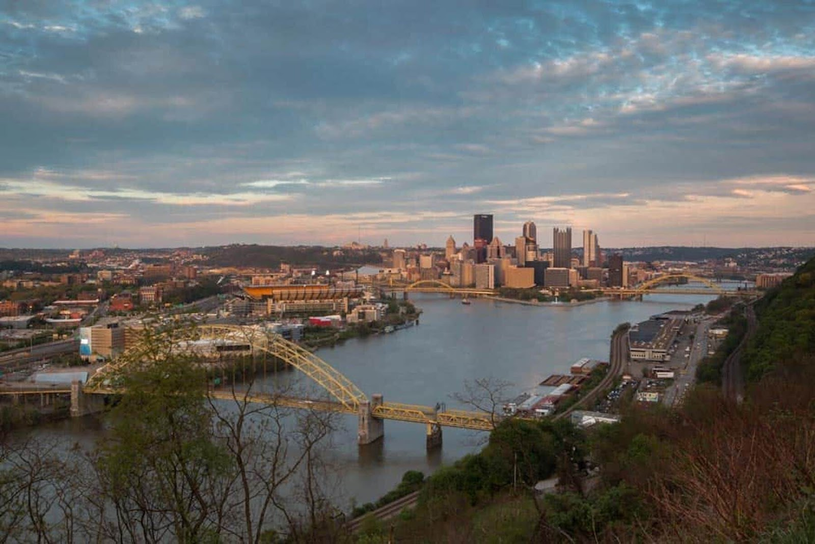 West End Overlook in Pittsburgh