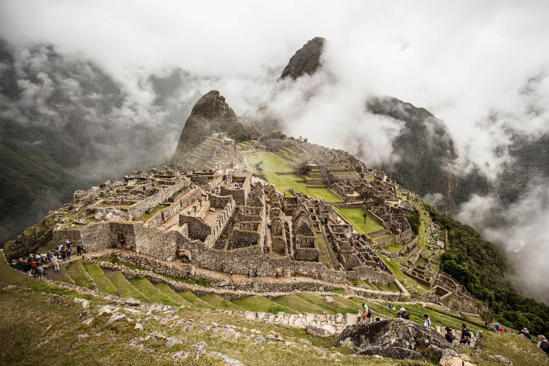 Photo of Machu Picchu.