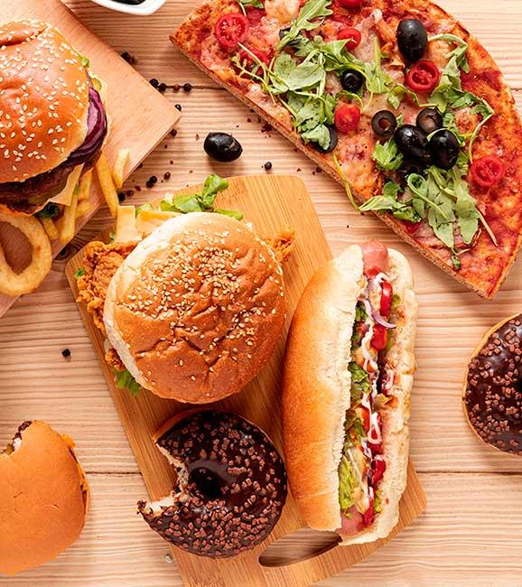 Alimentos que deberías evitar