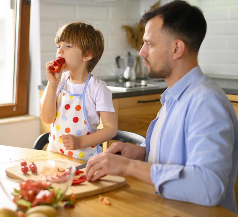 ¿Cómo lograr que mi hijo coma vegetales?