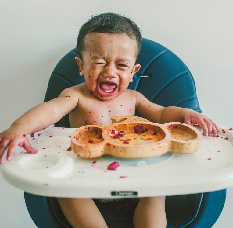 5 formas de ayudar a tu bebé a probar la proteína