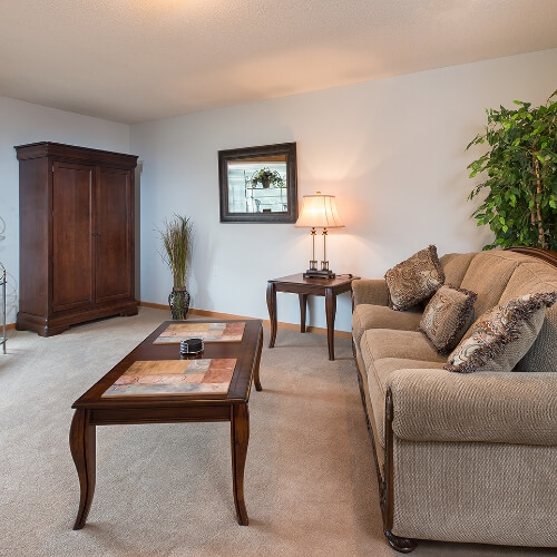 Independent Living Dodge City Manor of the Plains Living Room Image