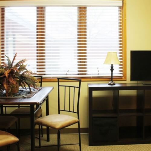 Assisted living Dodge City Manor of the Plains Living Room Area