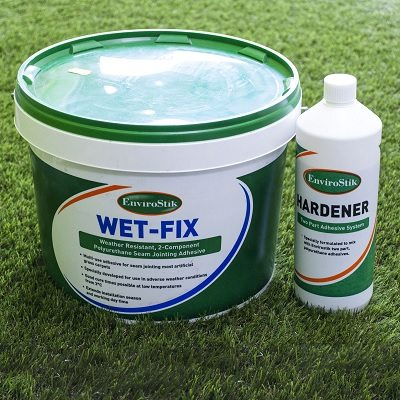 Tub of WetFix Artificial Grass Adhesive