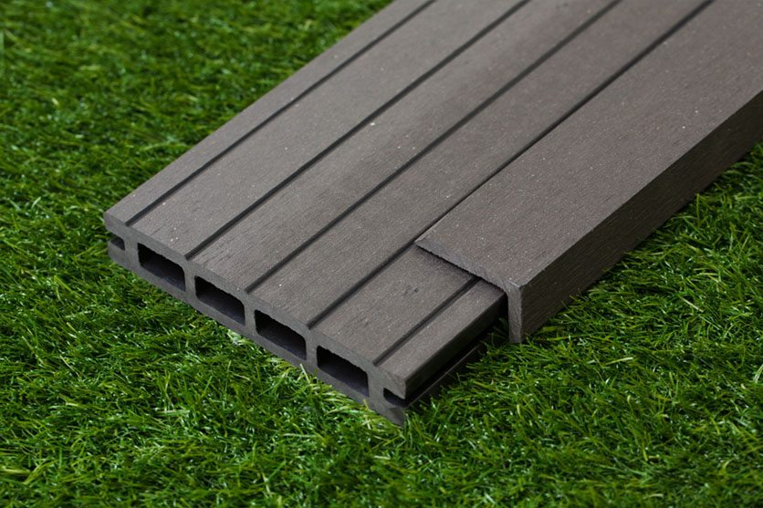 Black Composite Wood Decking Kit 2.9m Boards