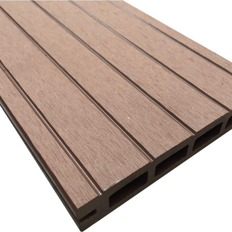 Brown Composite Wood Decking Kit 2.9m Boards (Reversible)