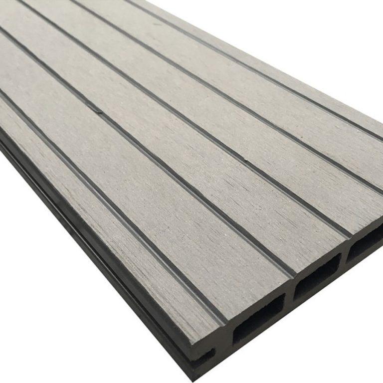 Grey Composite Wood Decking Kit 2.9m Boards (Reversible)