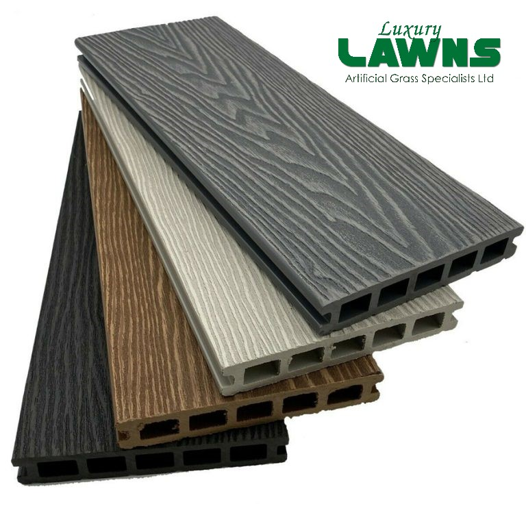 Composite Wood Grain Decking Kits