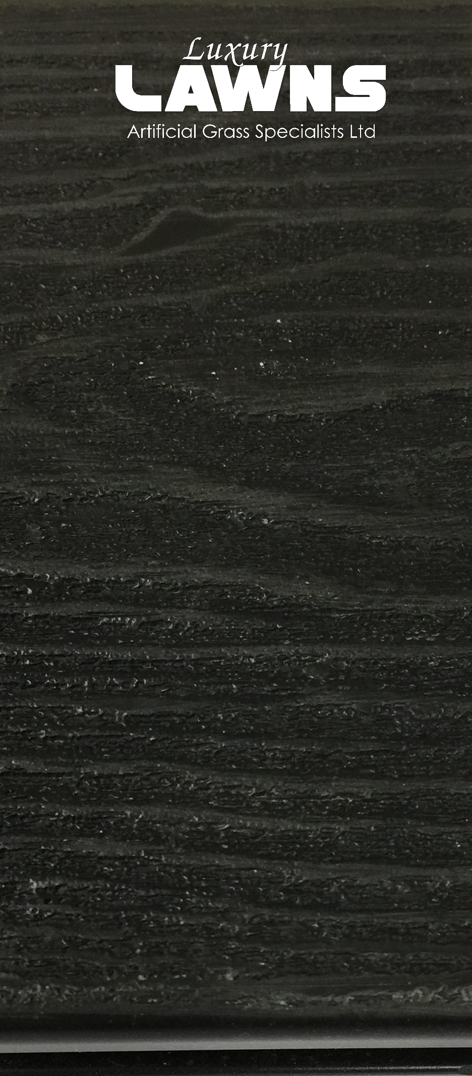 Black Wood Grain Composite Decking Close Up