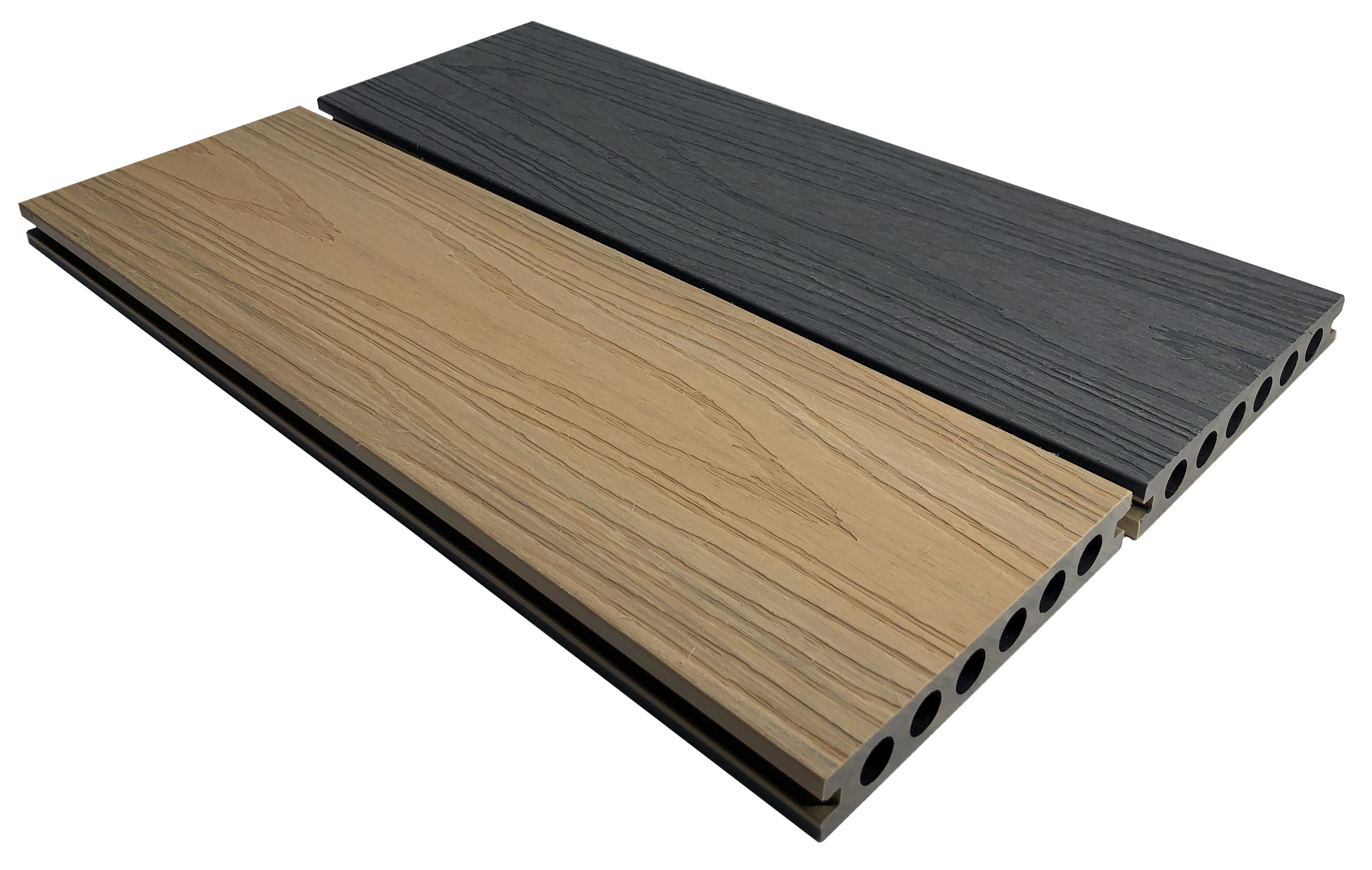 HD Deck Dual Natural Oak/Slate (Price per board) 22.5mm x 143mm x 3600mm