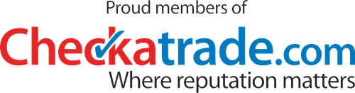 Proud members of Checkatrade.com where reputation matters.