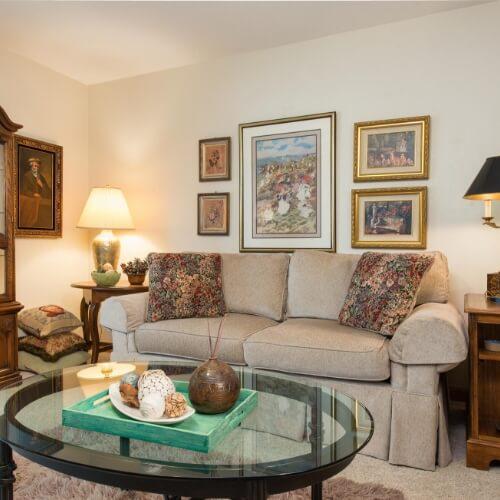 Independent Living Newton Presbyterian Manor Living Room