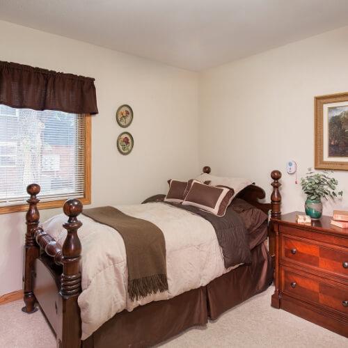 Newton Presbyterian Manor Independent Living Bedroom