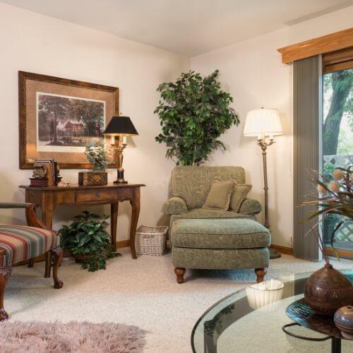 Independent Living Newton Presbyterian Manor Sitting Room Area