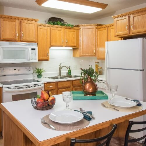 Newton Presbyterian Manor Independent Living Kitchen