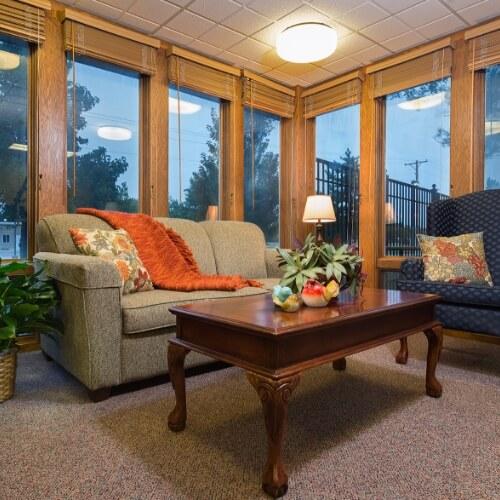 Assisted Living Newton Presbyterian Manor Sitting Room