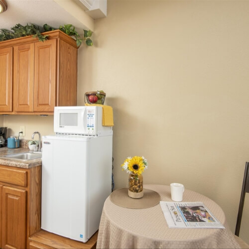 Parsons Presbyterian Manor Assisted Living Kitchen