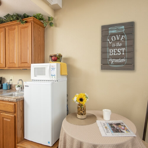 Parsons Presbyterian Manor Assisted Living Kitchen Image