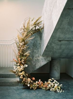 © photo: Anna Peters Photography / Planification et stylisme: Simply by Tamara Nicole / Fleurs: Gather Design Company