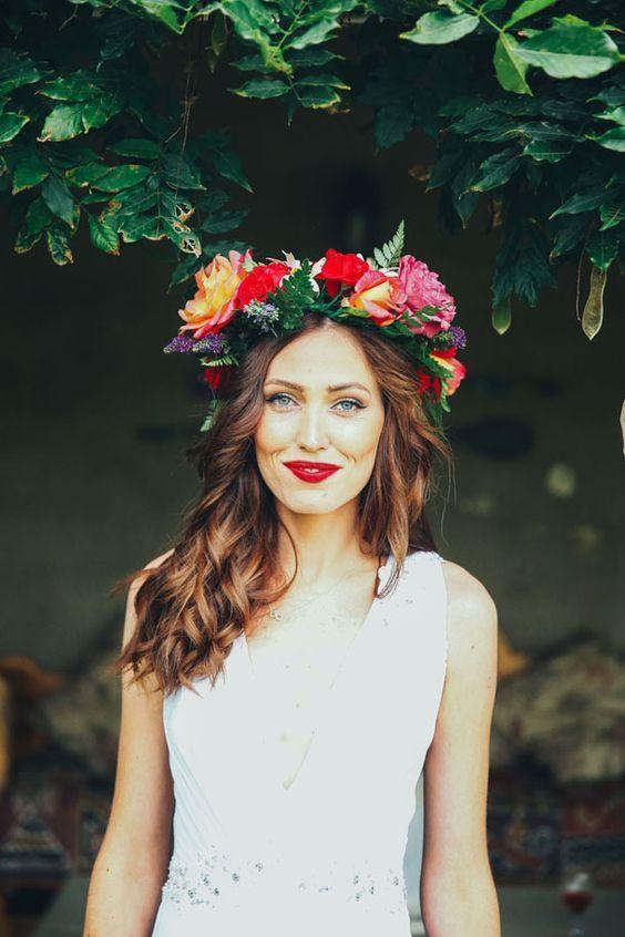© photo: Duane Smith / Coiffure et maquillage: Megan Taylor & Kayla Booth / Robe de la mariée: Ali Express / Couronne: Alta Steas (mère de la mariée)