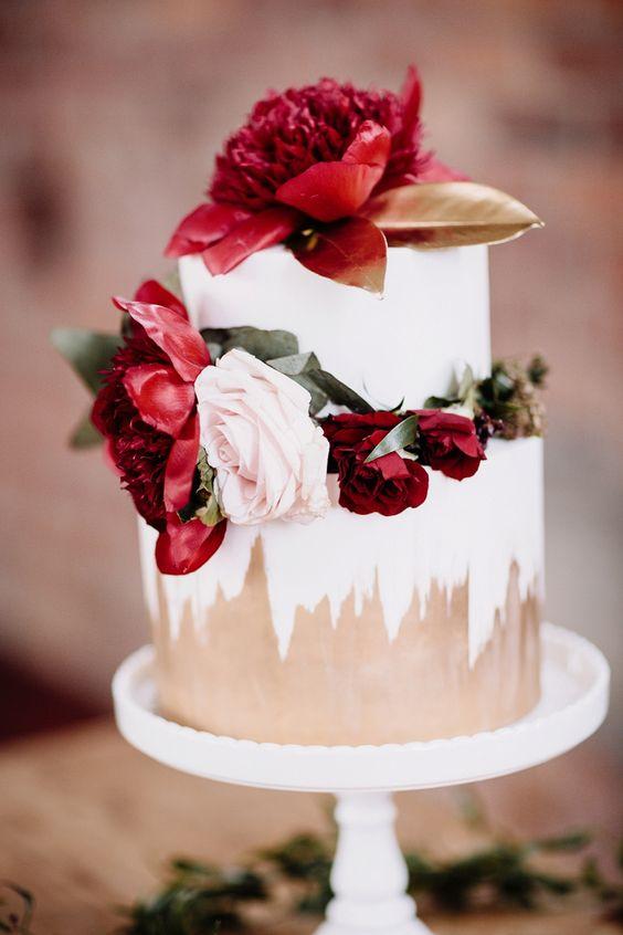 © photo: Proshot Photography / Gâteau: Sweet Bites Cakes / Stylisme et fleurs: Creative Crew
