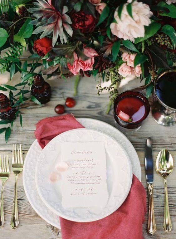 © photo: Lani Elias Fine Art Photography / Stylisme et direction artistique: Ashley Nicole / Fleurs: Academy Florist / Calligraphie: Julie Doan