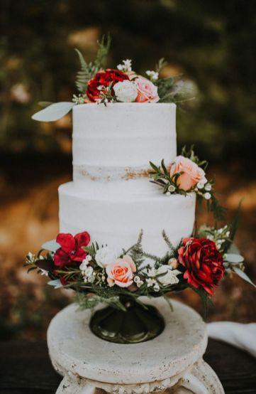 © photo: The Marions / Planification et locations: Katie Mullins Design / Gâteau: Abbie Cakes / Fleurs: Doniphan Flowers & Gifts