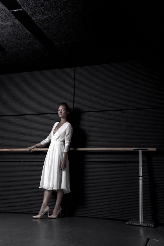 © photo: Damien Allard / Robe: Atelier Swan, modèle Ailey