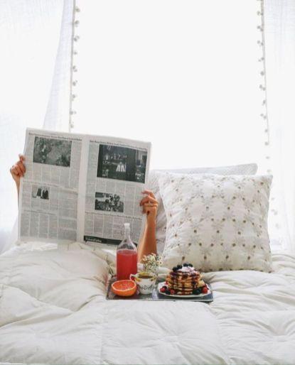 dimanche matin au lit