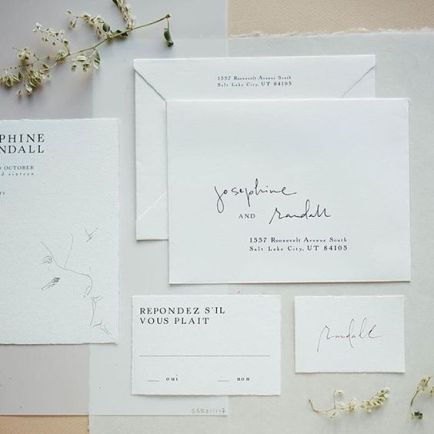 © photo: Stacie Yue / Illustrations et calligraphie: Party Sally - Script Mercantile