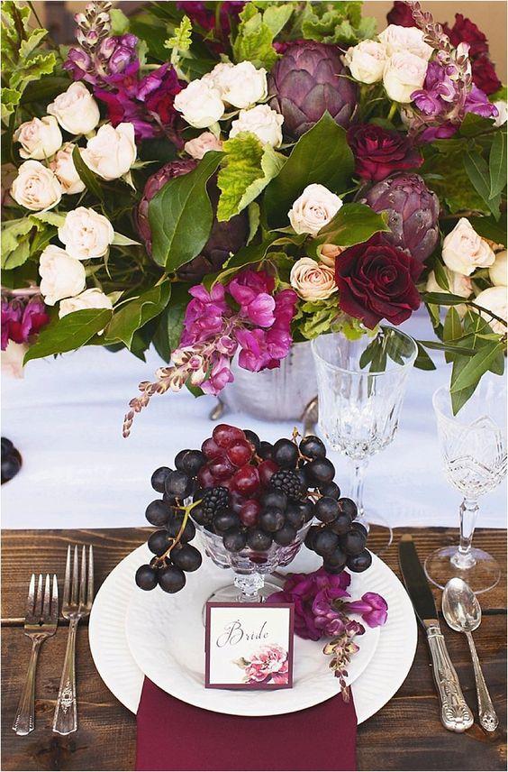 © photo: Samantha Bonpensiero Photography / Fleurs: SJ Floral Design/ Papeterie: Take Note! Creations