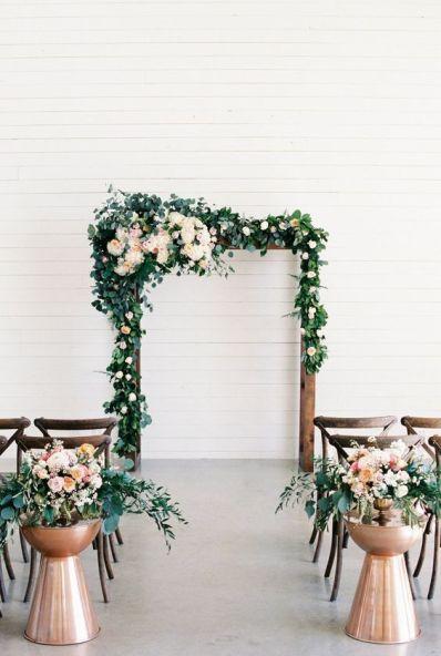 © photo: Emilie Ann Photography / Design et planification: Kate Rose Creative Group / Fleurs: Bouquets Floral Design