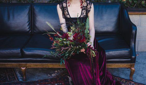 © photo: Amy Lynn Photography / Fleurs: Native Poppy