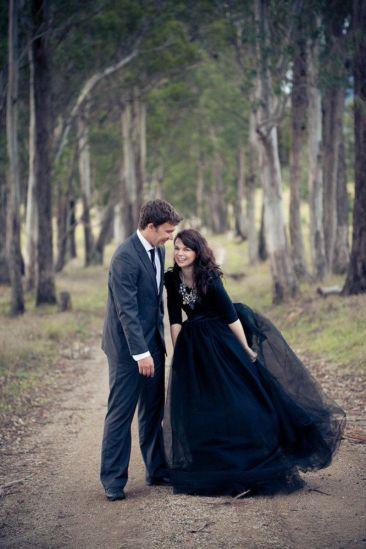 © photo: Jenny Cuerel Photography / Robe: Création de la mariée