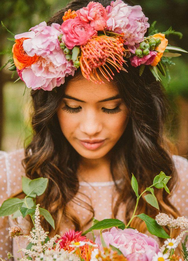 © photo: Laura Izumikawa Photography / Fleurs: Honey and Poppies