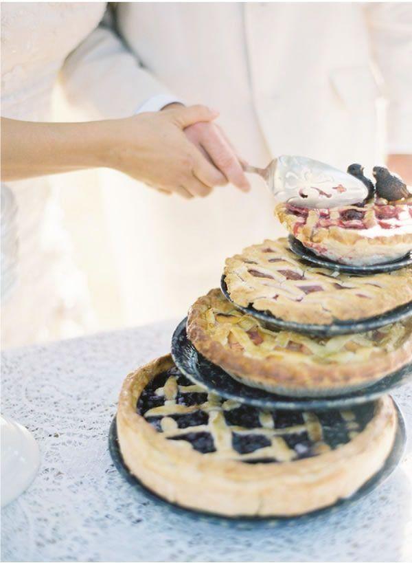 © photo: Jose Villa / gâteau: Santa Barbara Barbeque Gourmet Catering