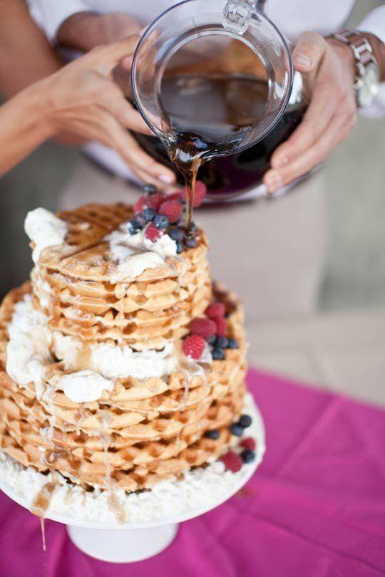 © photo: Becca Rillo Photography / Gâteau: Marisa Nicole Weddings and Events