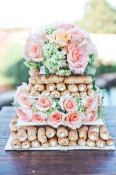 © photo: Marilyn Duvall Photography / gâteau: Peace, Love & Cakes