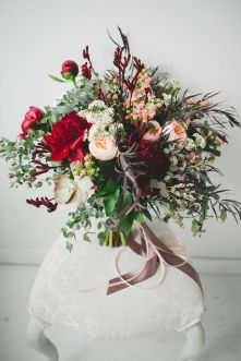 © photo: Sugar & Soul Photography / Fleurs: Fache Floral Designs