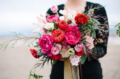 © photo: Hillary Muelleck Photography / Fleurs: Sego Event Planning and Floral Design