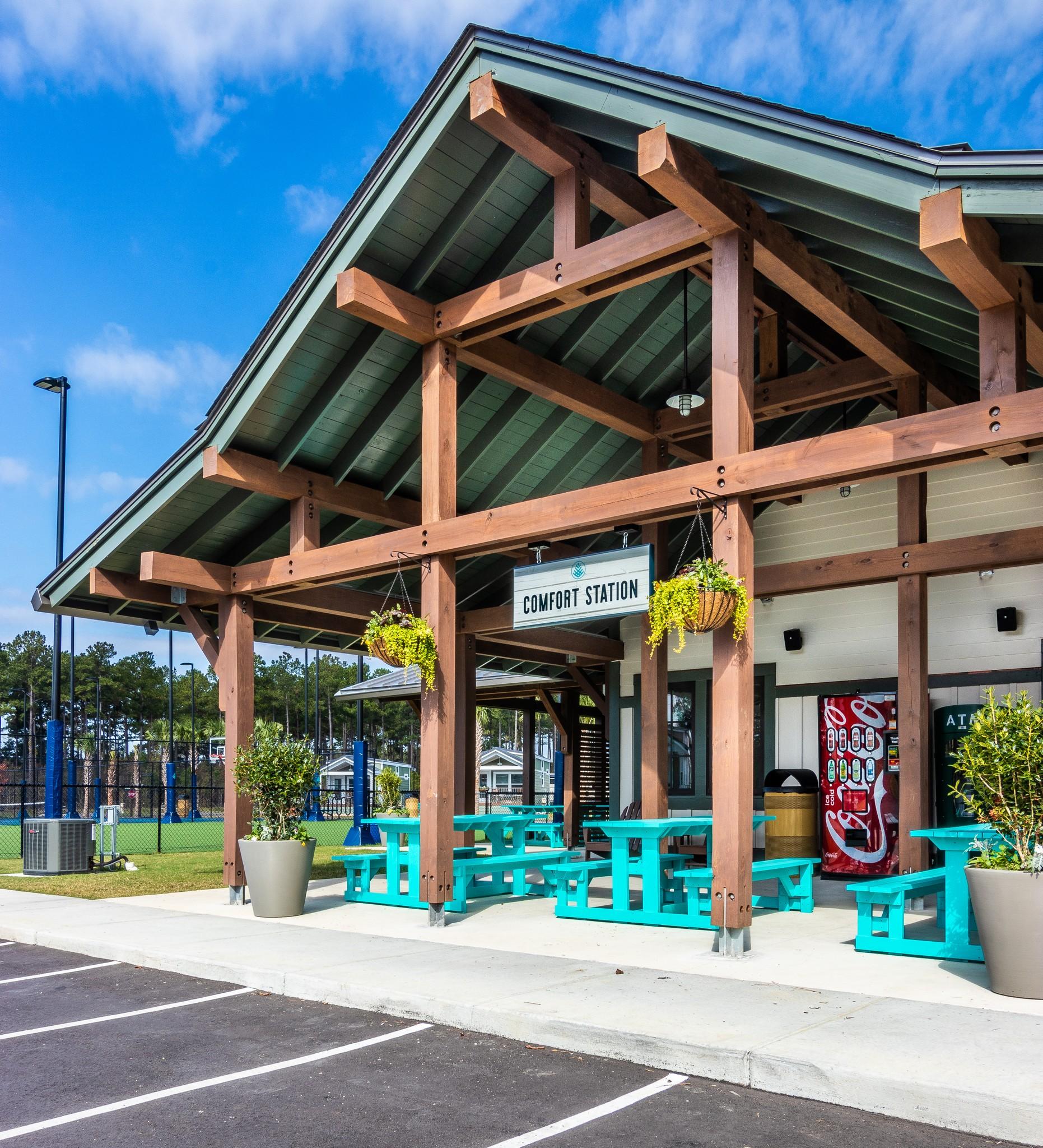 Carolina Pines RV Resort Park and Amenity Center