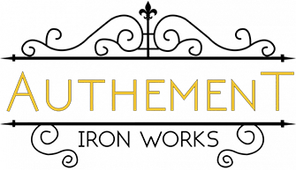 authement iron works logo