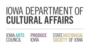 The Cultural Laedership Partners program is funded by the Iowa Dept of Cultural Affairs